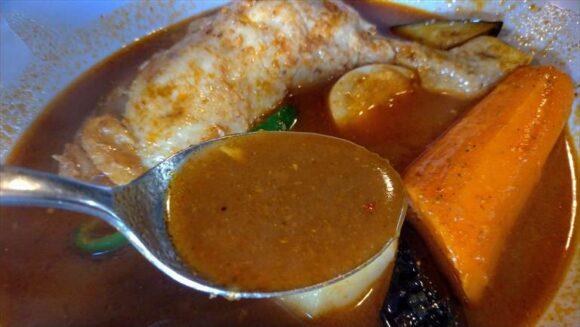 曉のスープカレー