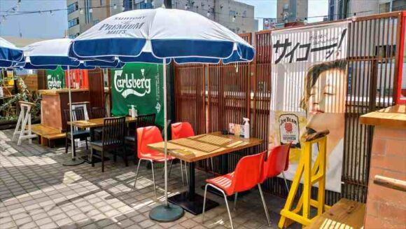 NUTS SQUARE BEER GARDEN(ナッツスクエア ビアガーデン)