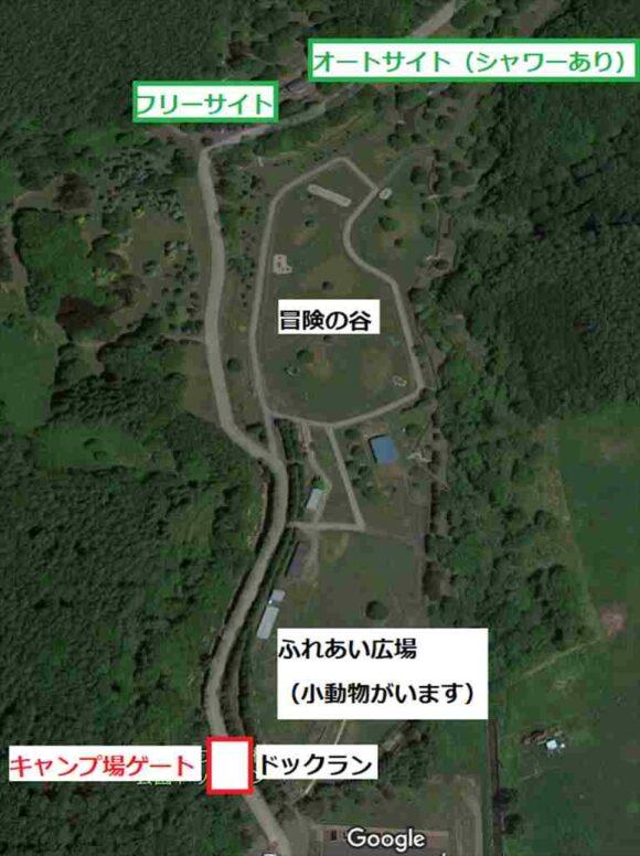 いわみざわ公園MAP