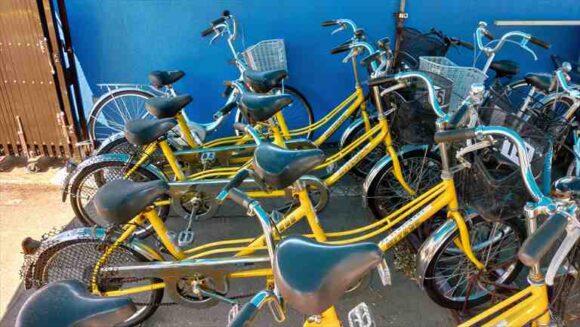 マオイオートランドのレンタル自転車