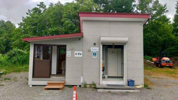 弥生パークキャンプ場のトイレ