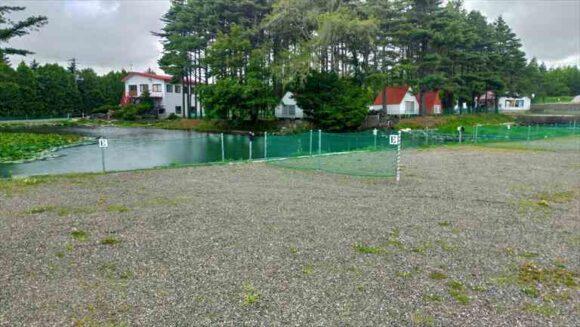 弥生パークキャンプ場のオートキャンプ