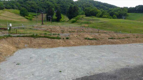 ばんけいキャンプフィールド(ban.K camp field)のカーサイト