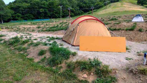 ばんけいキャンプフィールド(ban.K camp field)おすすめ手ぶらキャンプ