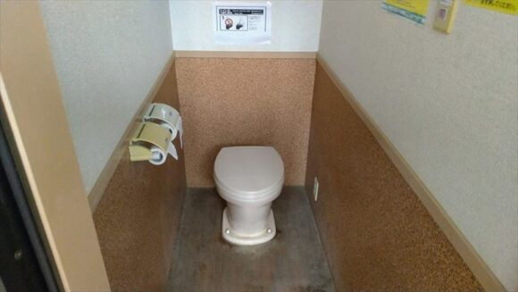 ワンダーランドサッポロのトイレ