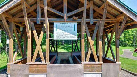 北広島市自然の森キャンプ場のBBQハウス