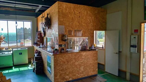 メイプルキャンプ場(恵庭)の受付・売店