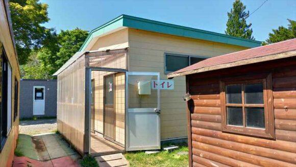 メイプルキャンプ場(恵庭)おすすめトイレ・炊事棟