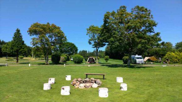 メイプルキャンプ場(恵庭)のイベントエリア
