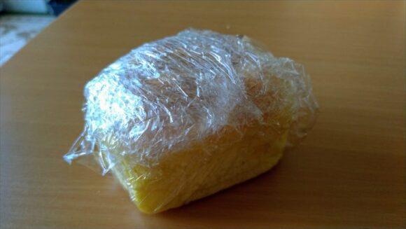 冷凍保存したコーンパン