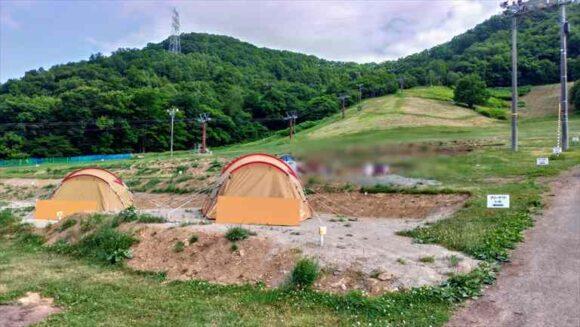 ばんけいキャンプフィールド(ban.K camp field)おすすめディキャンプ