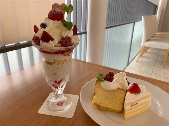 北菓楼札幌本館のカフェメニュー