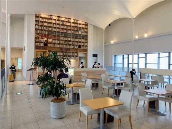 北菓楼札幌本館2階カフェ
