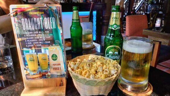 タイで飲むビールは最高