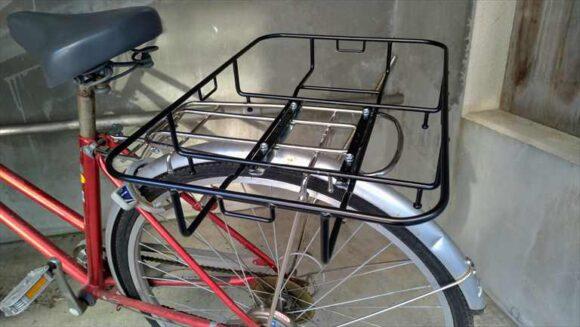 フィックスキャッチを付けた自転車