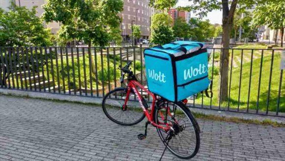 Uber Eats 配達に使っている自転車