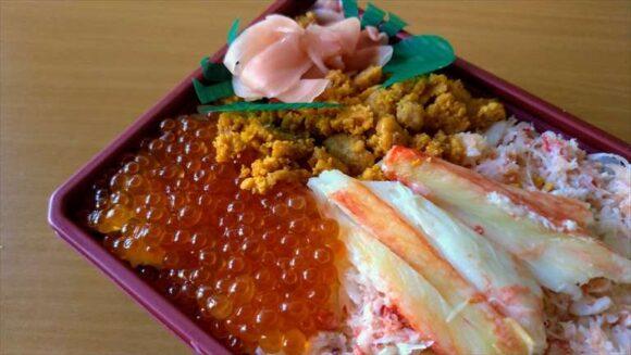 新千歳空港限定土産&グルメおすすめ「海鮮味比べ弁当」(北の弁当工房 かな)