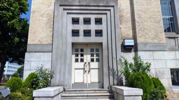 北菓楼札幌本館の旧玄関