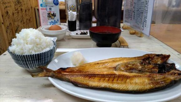 魚や がんねん(二条市場)おすすめ焼き魚定食