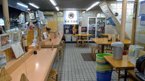 「近藤昇商店 寿司処けいらん」の店内