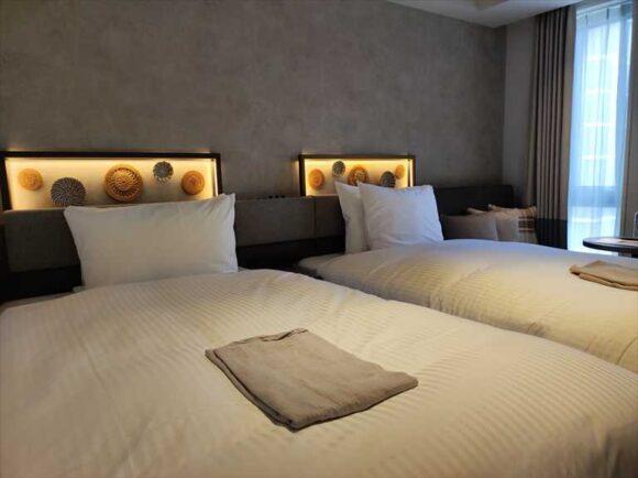 すすきのグランベルホテルの客室レビュー(ツインルーム)