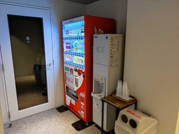 すすきのグランベルホテルの自動販売機・製氷機