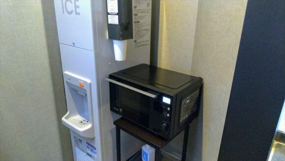 フィーノホテル札幌大通の製氷機・電子レンジ