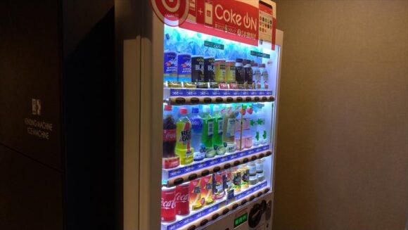 フィーノホテル札幌大通の自動販売機