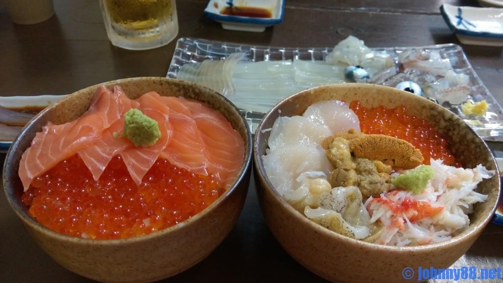 函館朝市海鮮丼