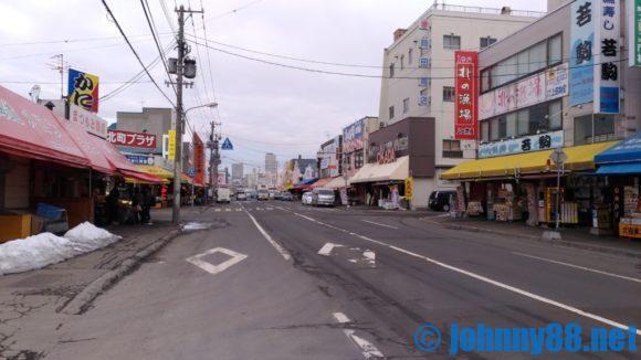 札幌場外市場のストリート