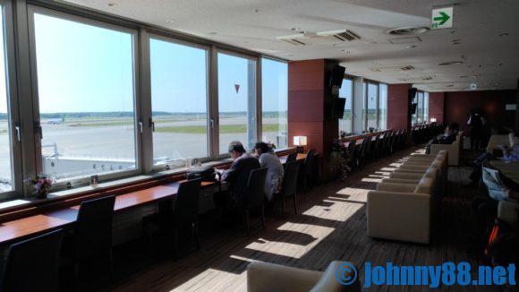 新千歳空港スーパーラウンジ内画像