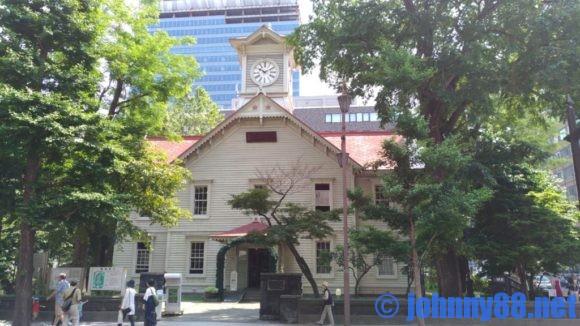 札幌市時計台の外観