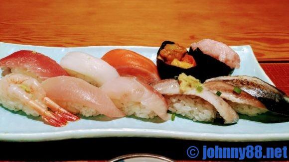 四季花まるの寿司セット