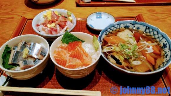 四季花まるのおまかせ海鮮丼