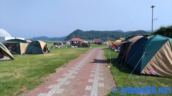 浜益川下海浜公園キャンプサイト