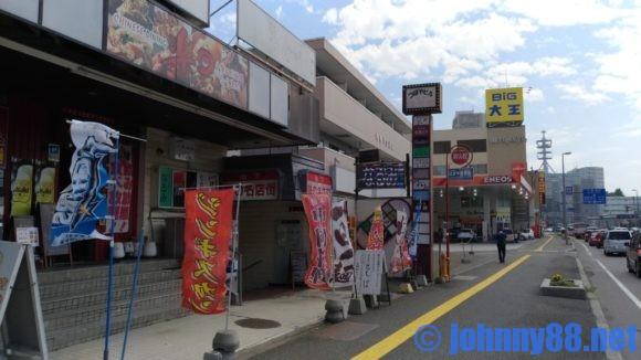 札幌市豊平区にある手打ちそば大草は地下の名店街の中にあります