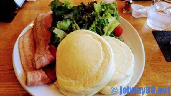 KANON PANCAKESの食事系パンケーキ