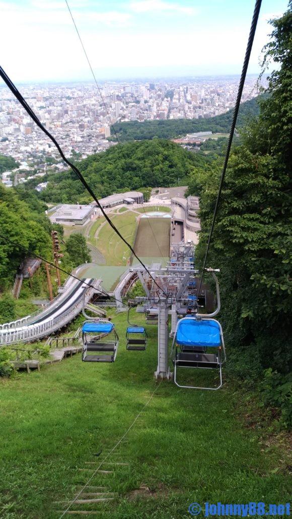 大倉山展望台下りリフト