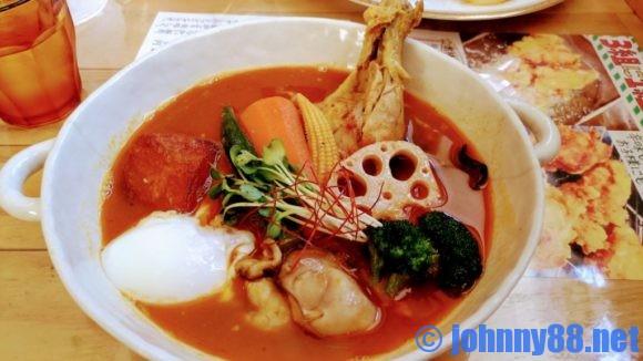 トムトムキキルのスープカレーアップ画像