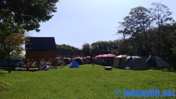 皆楽公園キャンプ場
