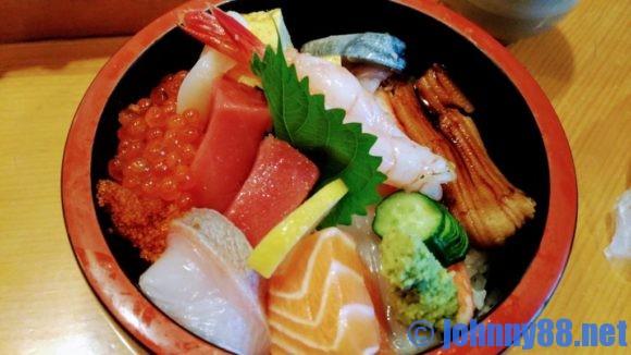 大船鮨のランチ海鮮丼B