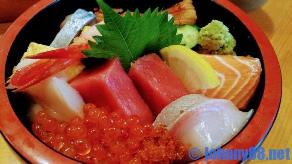 大船鮨のランチ海鮮丼