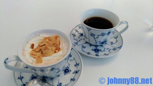 六花亭札幌本店喫茶室のホットコーヒー