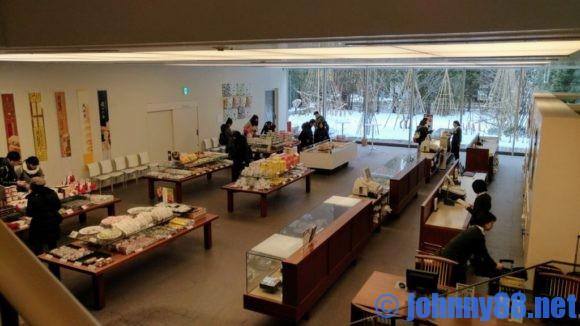 六花亭札幌本店1階の店舗スペース