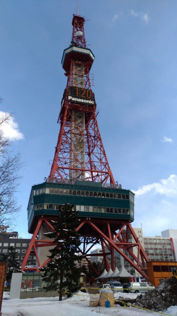札幌テレビ塔の外観