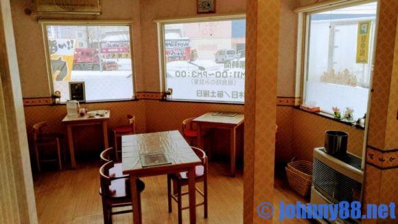 カレーの店テラスの店内画像