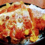 すすきの「なかむら」のかつ丼アップ画像
