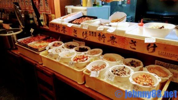 根室食堂の海鮮丼バイキング