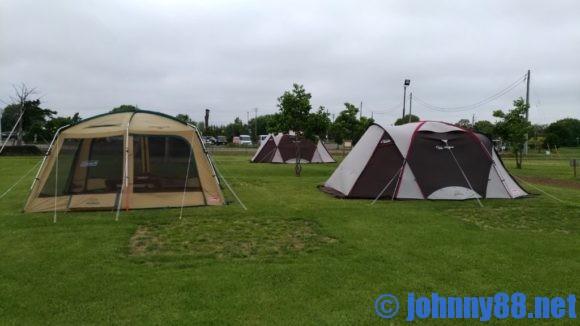 しのつ公園キャンプ場の手ぶらでキャンプ