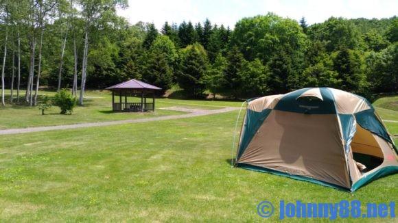 厚田公園キャンプ場